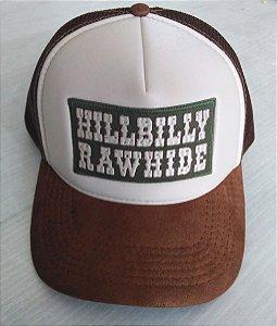 Boné Hillbilly Rawhide Trucker Marrom - Edição Limitada