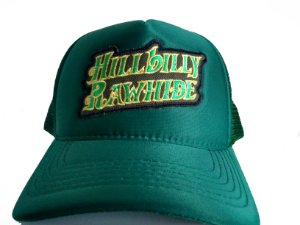 Boné verde Hillbilly Rawhide