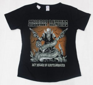 Camiseta My Name is Rattlesnake Feminina