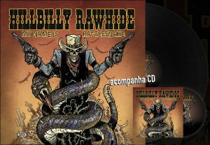 Vinil Hillbilly Rawhide - My Name is Rattlesnake (Edição Limitada) + CD Cardbox