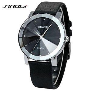 Relógio Sinobi - Casual Masculino - Resistente à água