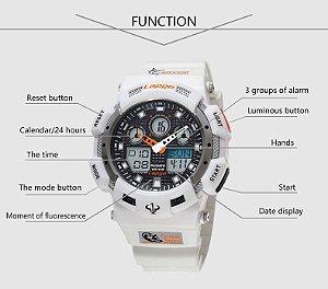 Relógio Pasnew - Display Duplo