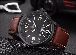 Naviforce Relógio Militar Impermeável