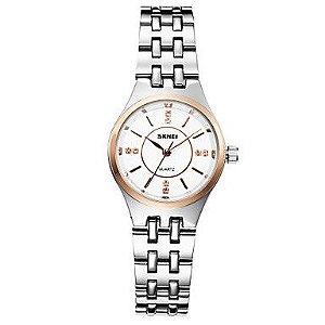 Relógio Skmei - Feminino - Aço Inoxidável