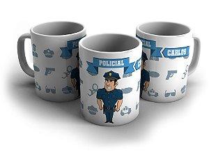 Caneca personalizada - Policial