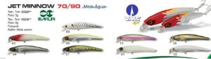Isca Artificial JET MINNOW 70