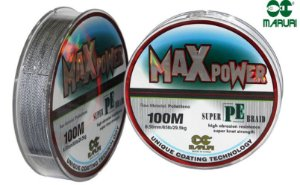 Linha Multifilamento Max Force Super PE - Maruri