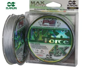 Linha Multifilamento Max Force PE 4x - Maruri