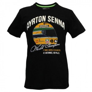 Camiseta Senna - WORLD CHAMPION