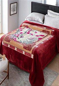 Cobertor Casal Raschel Plus Adriatico Aveludado Jolitex