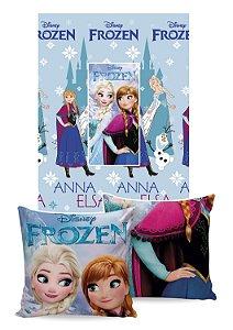 Manta Almofada Frozen Jolitex