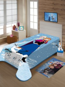Cobertor Solteiro Frozen Jolitex 1,50x2,00