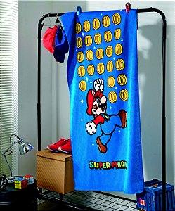 Toalha Banho Super Mario 02 Aveludada Dohler