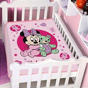Cobertor Infantil Disney Minnie Ursinho Jolitex