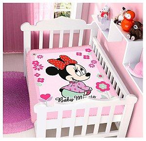 Cobertor Infantil Disney Minnie Florzinhas Jolitex