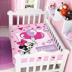 Cobertor Infantil Disney Minnie Festa Jolitex