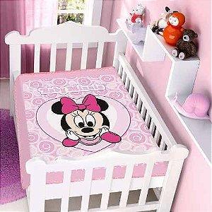 Cobertor Infantil Disney Minnie Coração Jolitex