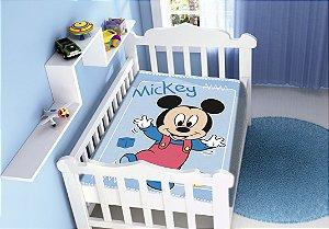 Cobertor Infantil Disney Mickey Passinhos Jolitex