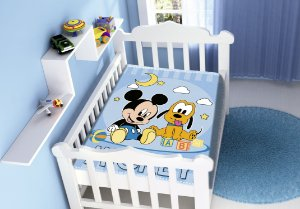 Cobertor Infantil Disney Mickey e Pluto Jolitex