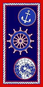 Toalha Praia Buettner Marine 60391