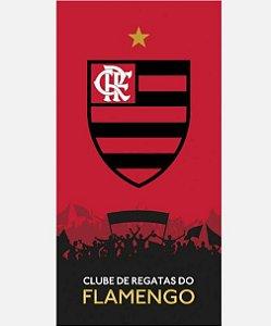 Toalha Flamengo Veludo 13 Dohler