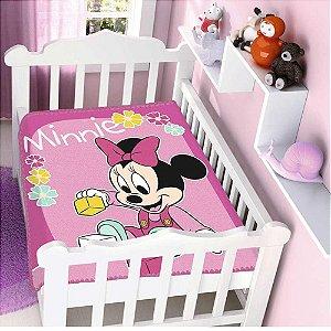Cobertor Infantil Disney Minnie Brincando