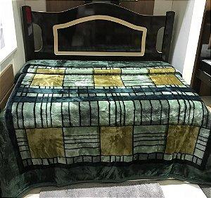 Cobertor Casal Tradicional Invernes Verde