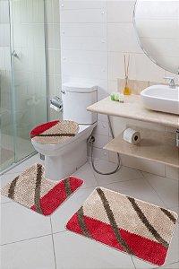 Jogo Banheiro Van Gogh Jolitex Bambu
