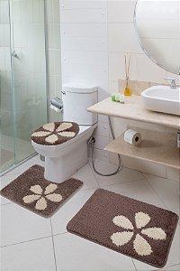 Jogo Banheiro Van Gogh Jolitex Flora