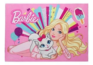 Tapete Barbie Joy Jolitex 70x100 cm