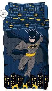 Kit Colcha Bouti Batman Lepper c/ porta travesseiro