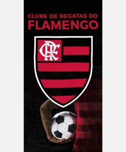 Toalha Flamengo Aveludada Dohler 13