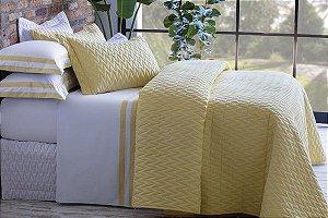 Jogo de Cama Queen Double Amarelo Sultan Naturalle Fashion