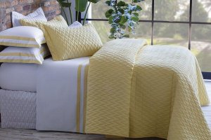 Jogo de Cama King Double Amarelo Sultan Naturalle Fashion