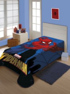 Cobertor Solteiro Homem Aranha Jolitex 1,50x2,00