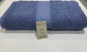 Toalha Banho Natural Bouton Azul Petróleo 63977