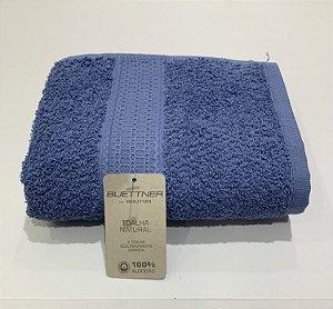 Toalha Rosto Natural Bouton Azul Petróleo 63964