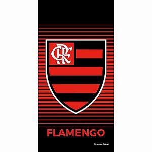 Toalha Flamengo Aveludada Bouton