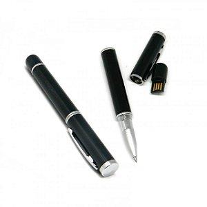 Caneta Pen Drive Roller Ball (Preta) 4GB