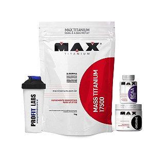 Combo Mass Titanium + Brinde – Max Titanium