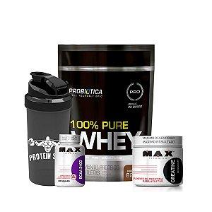Combo 100% Pure Whey + Brinde – Probiótica