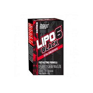 Lipo 6 Black 120 caps - Nutrex