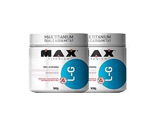 Combo Glutamina 300g - Max Titanium