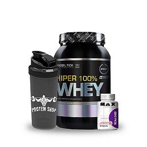 Combo Hiper 100% Whey - Probiótica