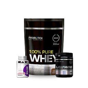 Combo 100% Pure Whey + L-Glutamine
