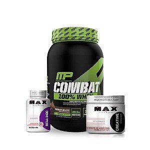 Combo Combat 100% Whey