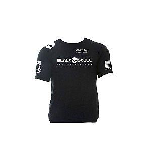 Camiseta Soldado BOPE Dry Fit - Black Skull