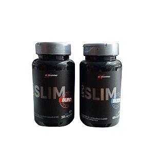 Lipo Slim Burn 30caps + Lipo Slim Block 60caps - Extreme