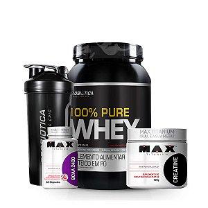 Combo 100% Pure Whey - Probiótica