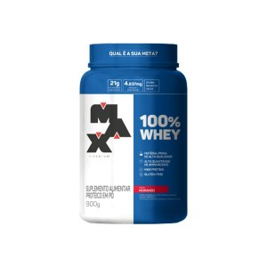 100% Whey Protein 900g - MaxTitanium